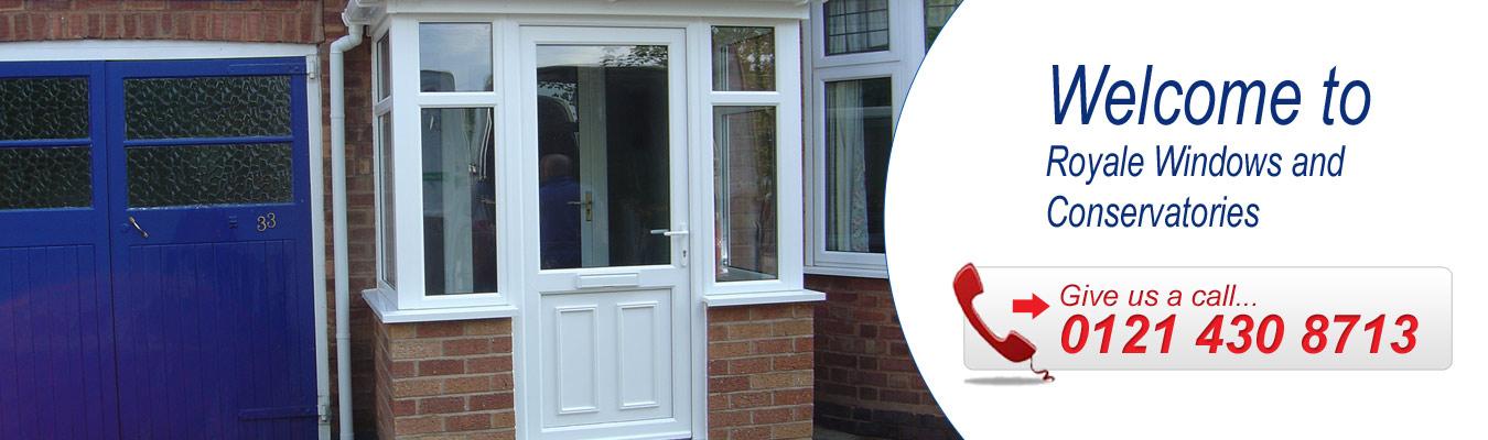 Birmingham Upvc Porches Royale Windows